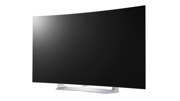 Curved-TV mit 3D-Feature
